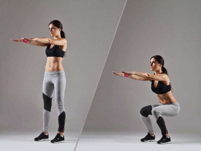 Các bài tập thể dục giảm cân toàn thân hiệu quả tại nhà