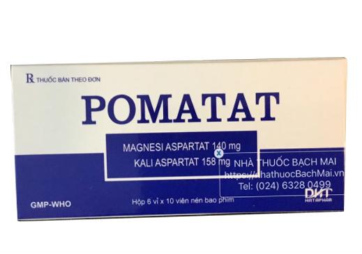Công dụng và những lưu ý khi dùng thuốc Pomatat điều trị bệnh