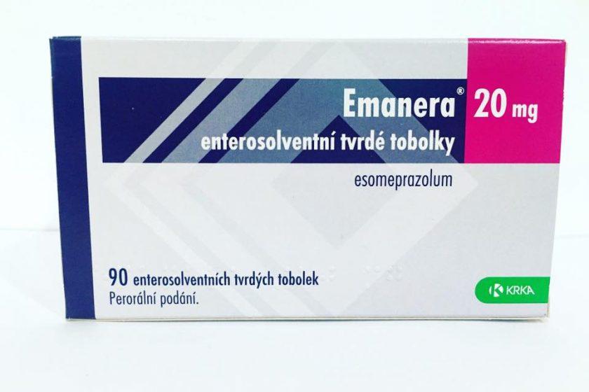 Tìm hiểu thuốc Emanera20mg là thuốc gì? Thuốc Emanera20mg có tác dụng gì?