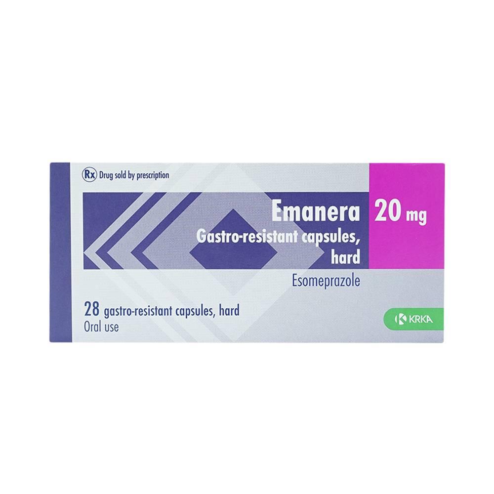 thuốc emanera 20mg có tác dụng gì