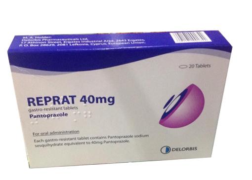 thuốc reprat 40mg có tác dụng gì
