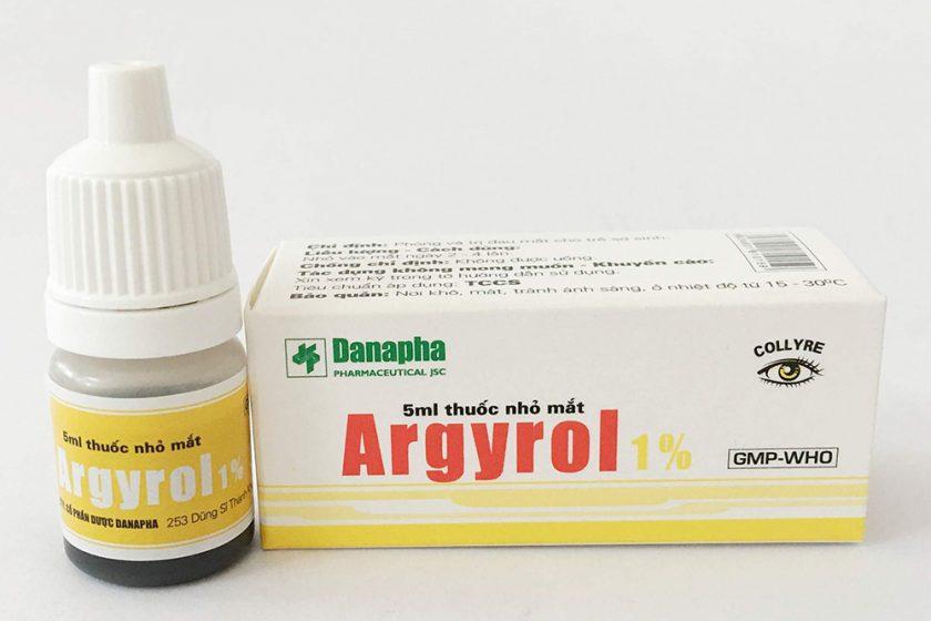 Tìm hiểu về thuốc nhỏ mắt Argyrol liều dùng và cách sử dụng