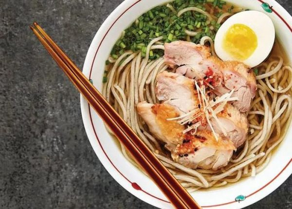 Mì gà soba của Nhật Bản - món ăn tuyệt vời trong thực đơn hàng ngày giúp giảm cân