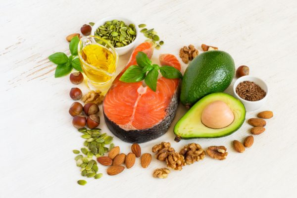Nguồn protein, chất béo lành mạnh