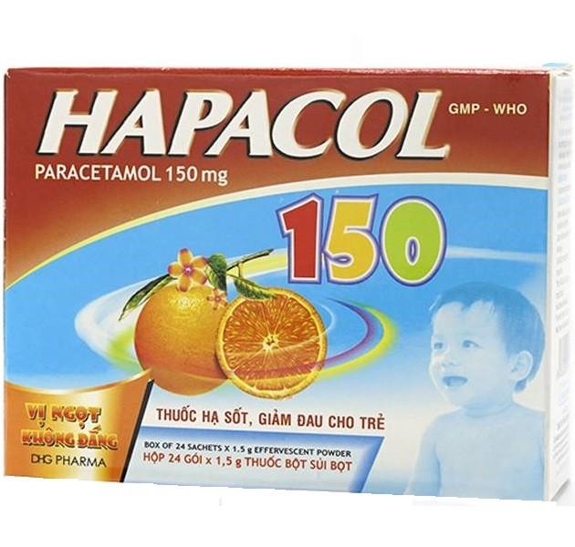 Thuốc Hapacol cho trẻ sơ sinh