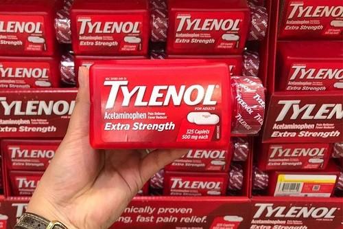 Các loại thuốc Tylenol có trên thị trường hiện nay